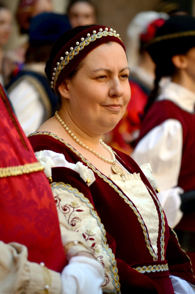 dama corte ducale