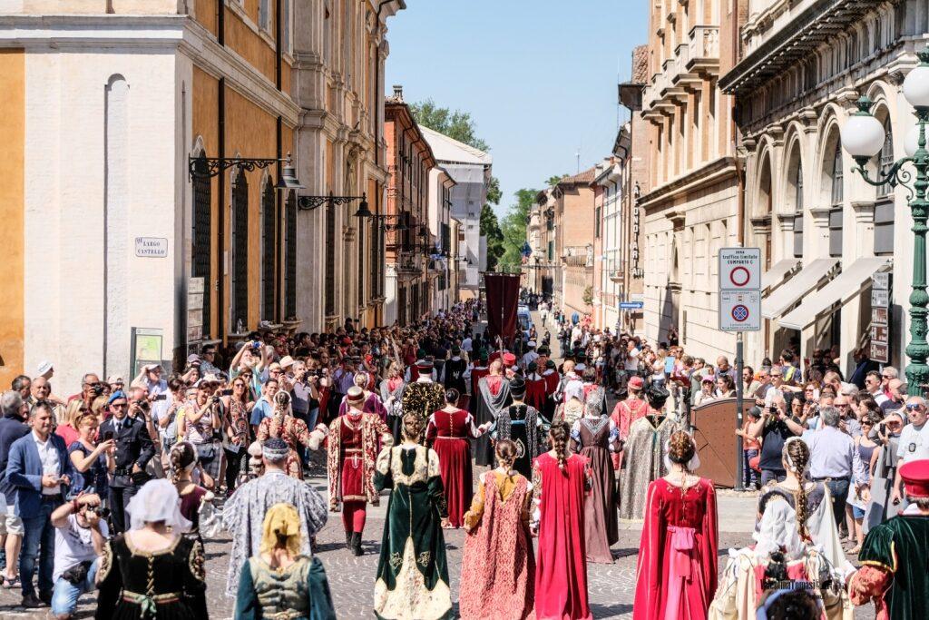 sfilata corte ducale
